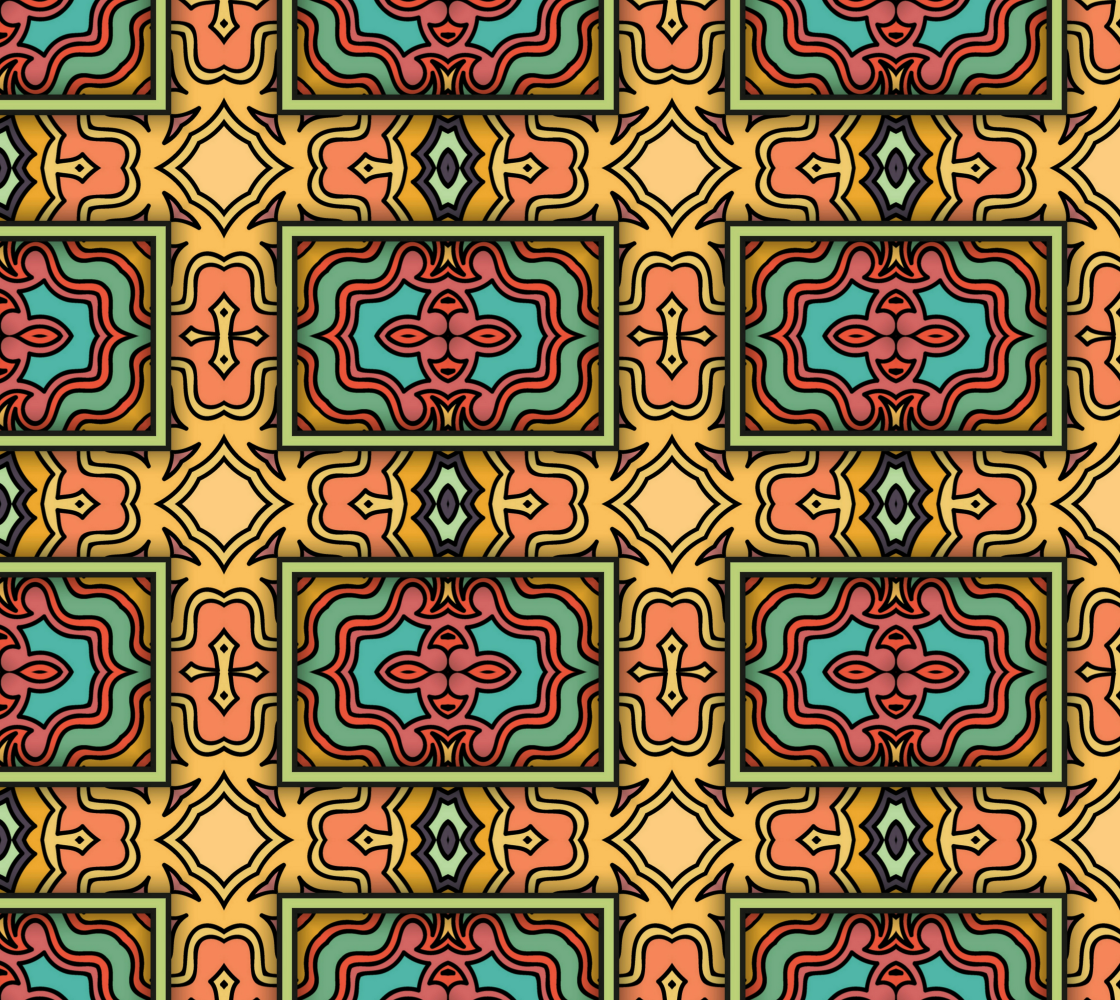 Aperçu de Gorgeous Ethnic Abstract