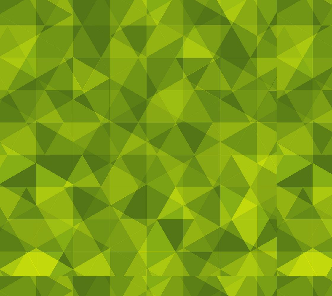 Aperçu de green geometric triangles