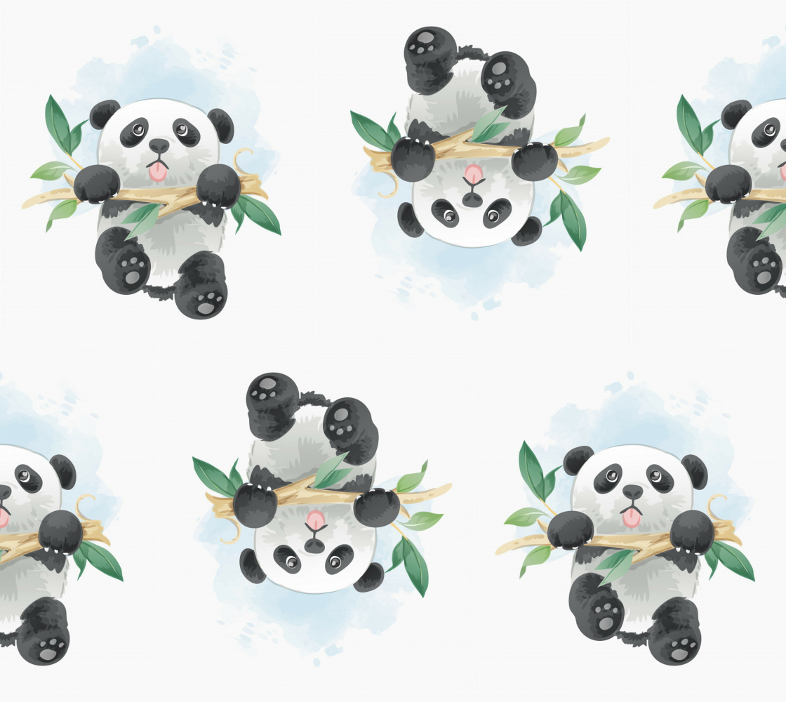 Aperçu de Pandas Munching on Bamboo