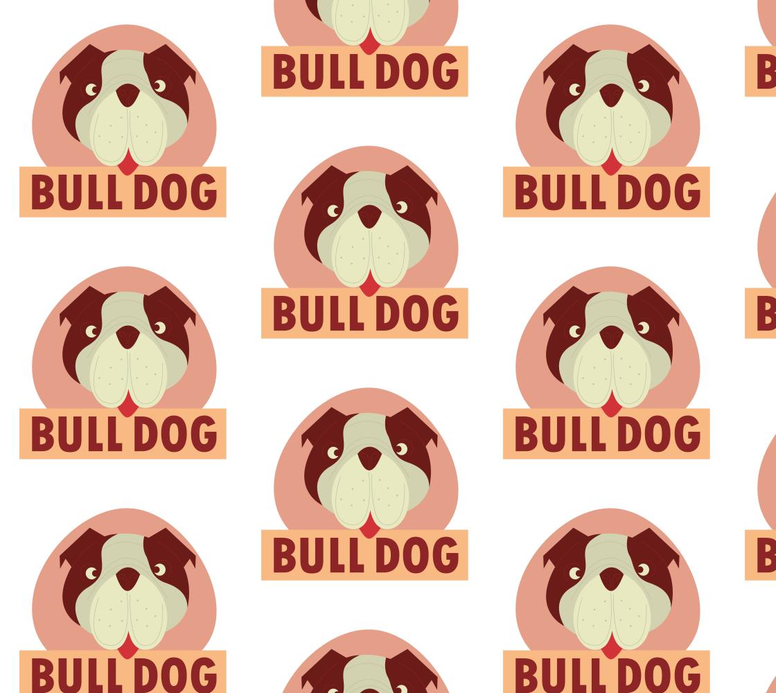 Aperçu de Cartoon Bulldog