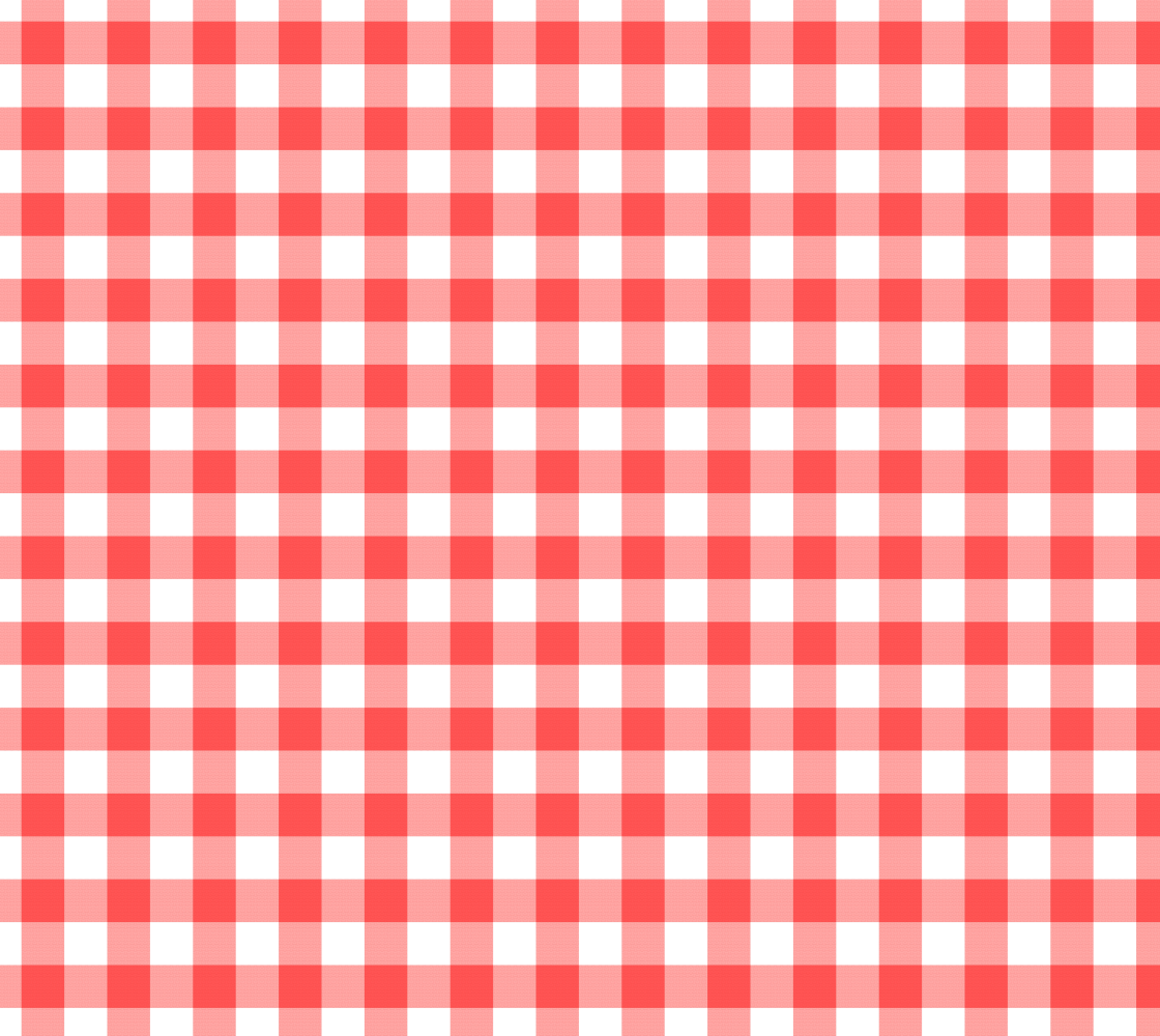 Red Gingham Fabric Red and White preview