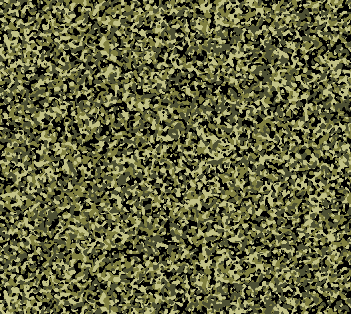 Small Print Classic Green Camouflage Pattern preview