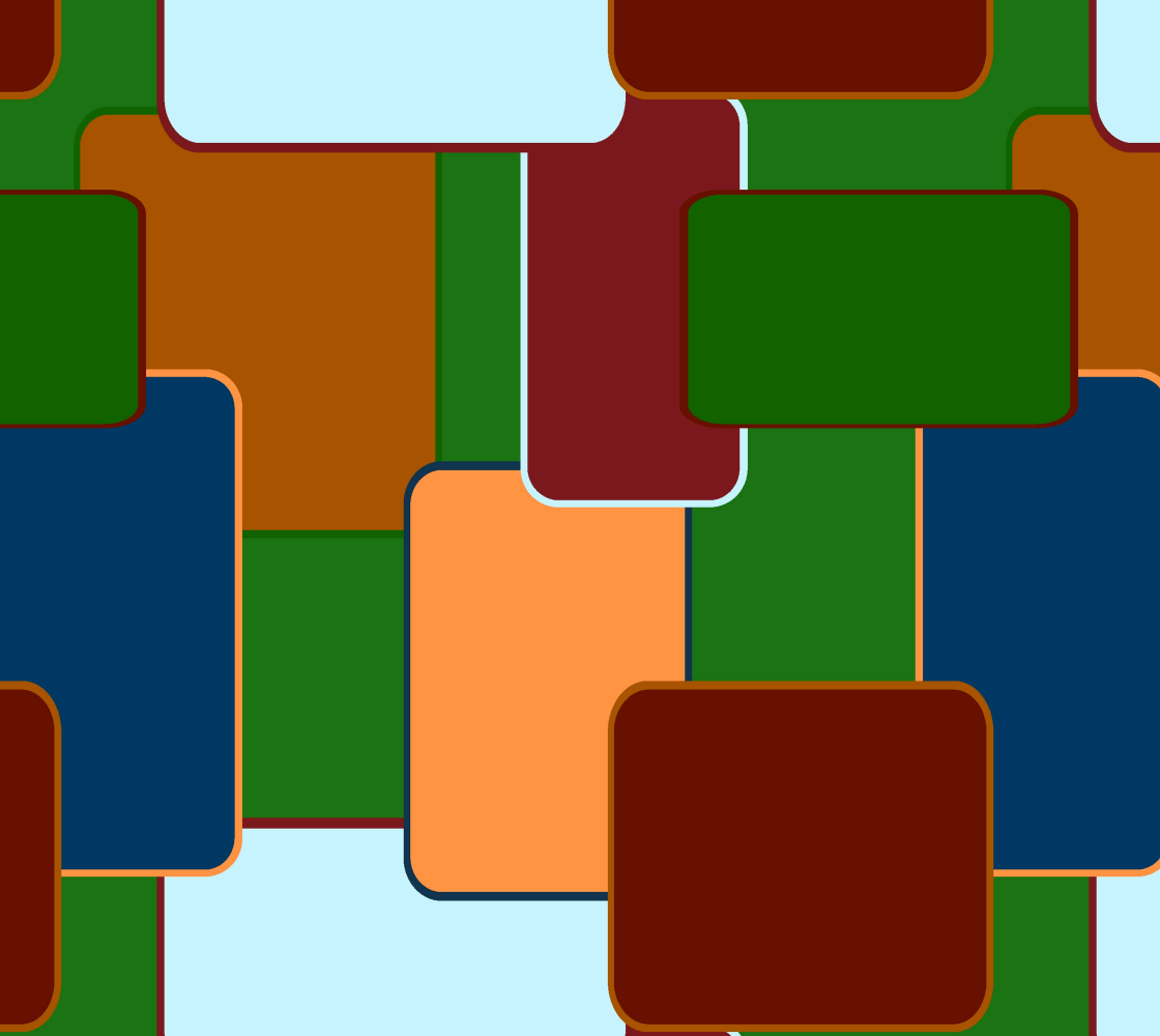 Retro squares on green preview