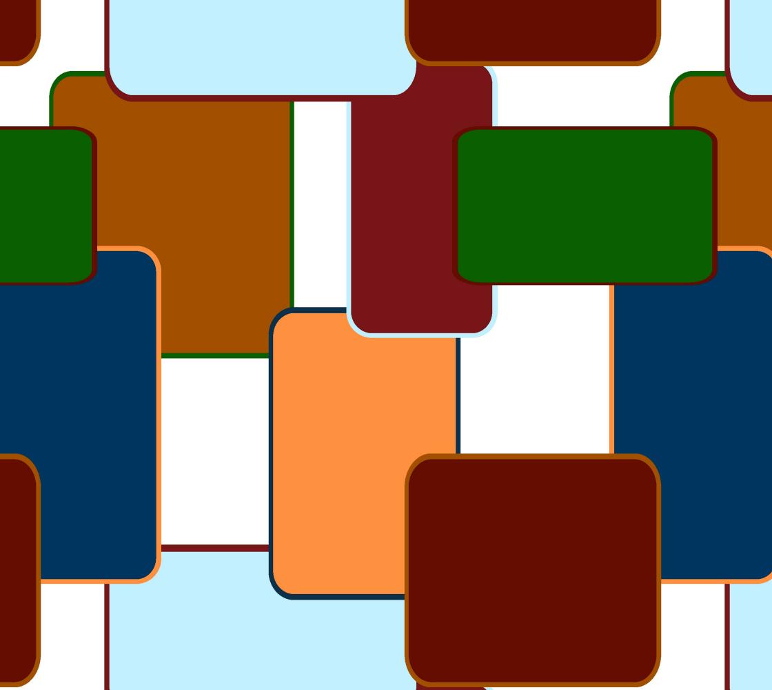 Retro squares on white preview