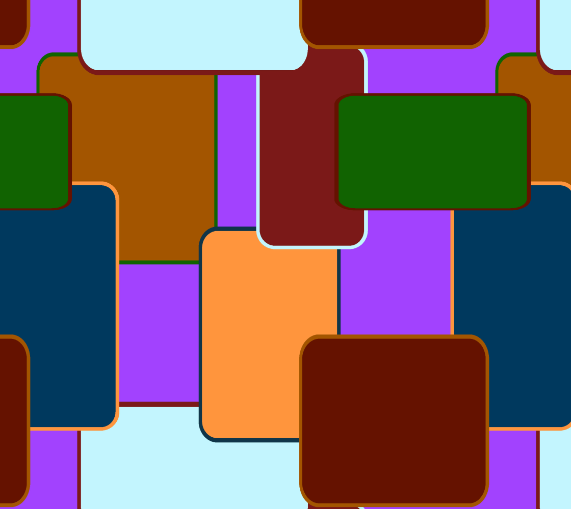 Retro squares on purple preview