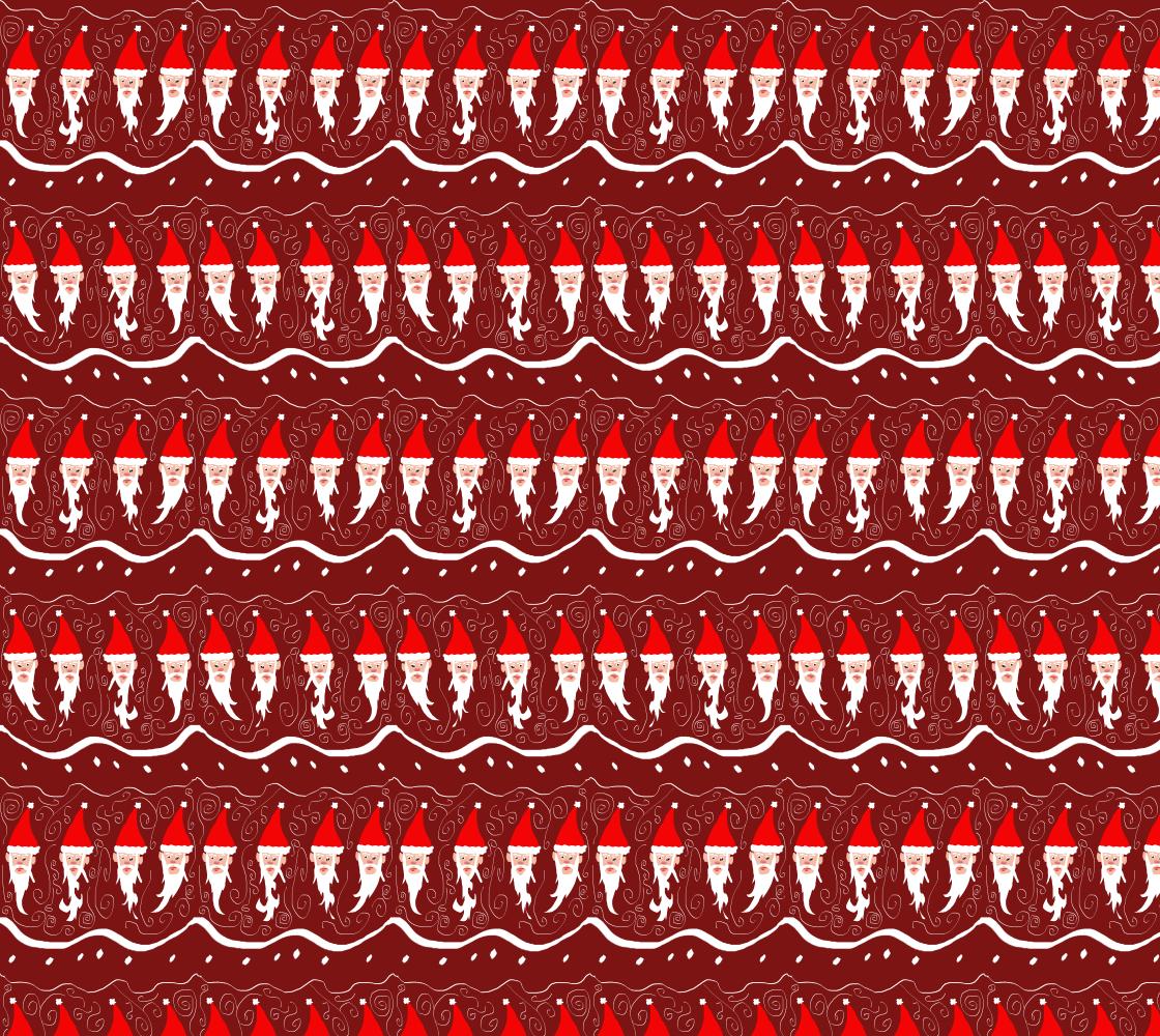 Aperçu de Bearded Santa Fabric