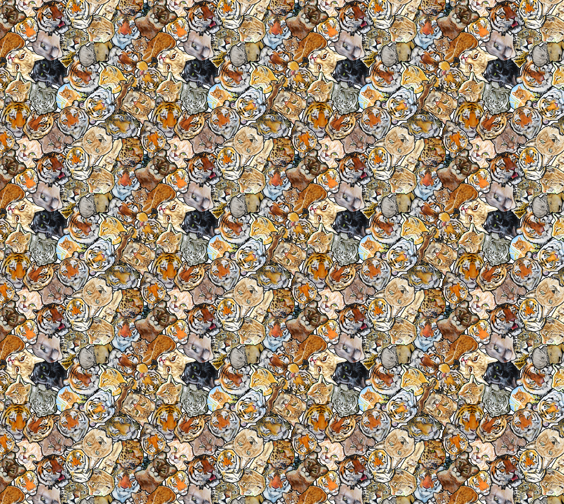 Big Cat Collage thumbnail #1