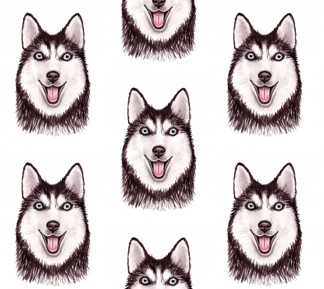 Aperçu de Husky Love Fabric