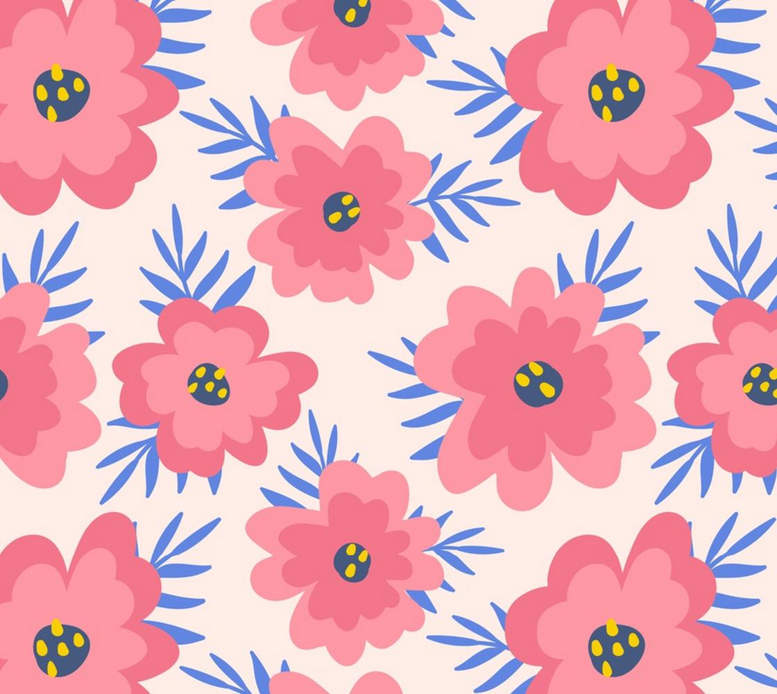 Aperçu de Big Beautiful Pink Floral