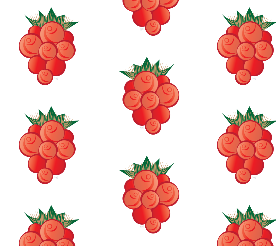 Salmonberry White preview