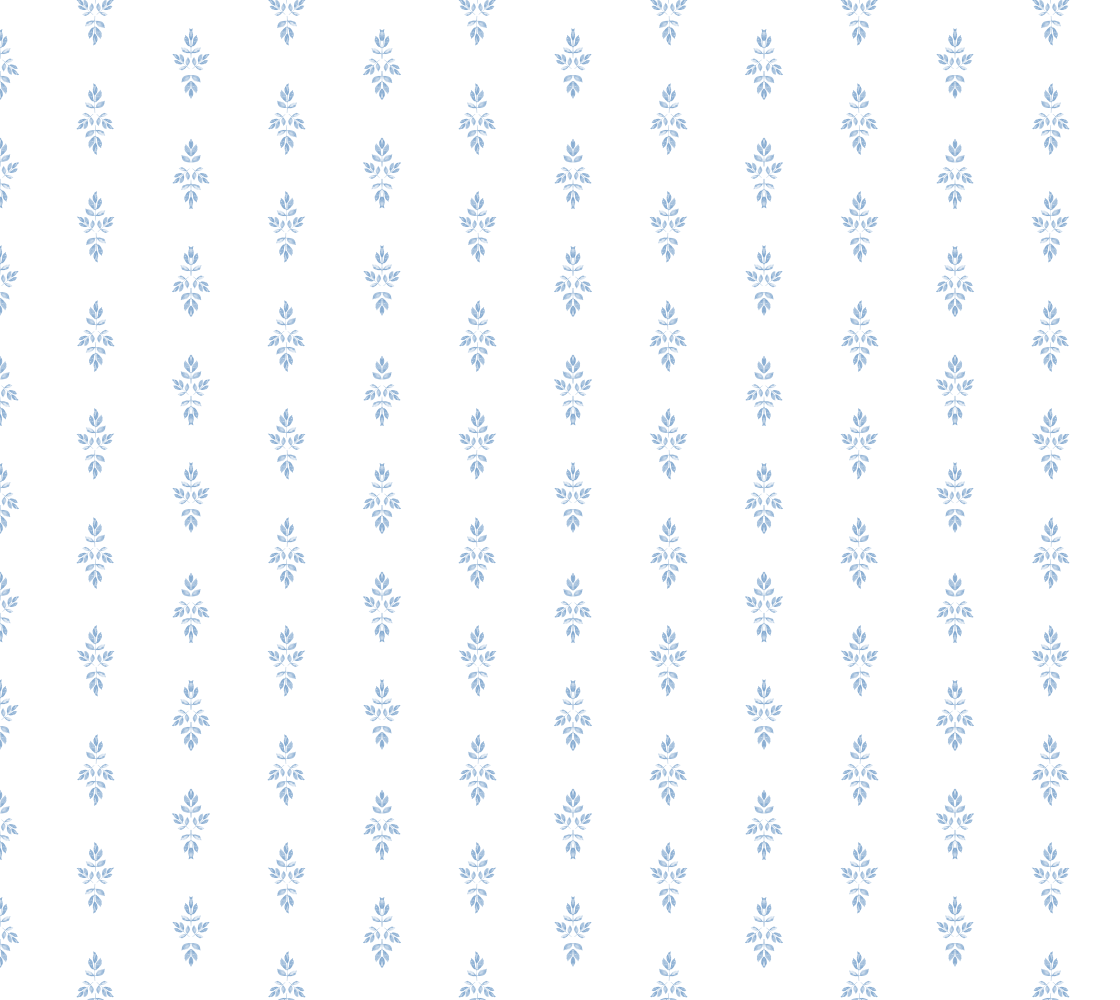 Aperçu de Blue and White Motif Stripe