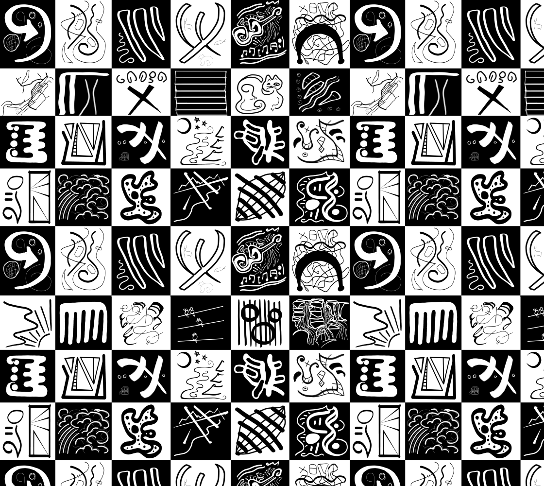 Good Life Abstract Pattern preview
