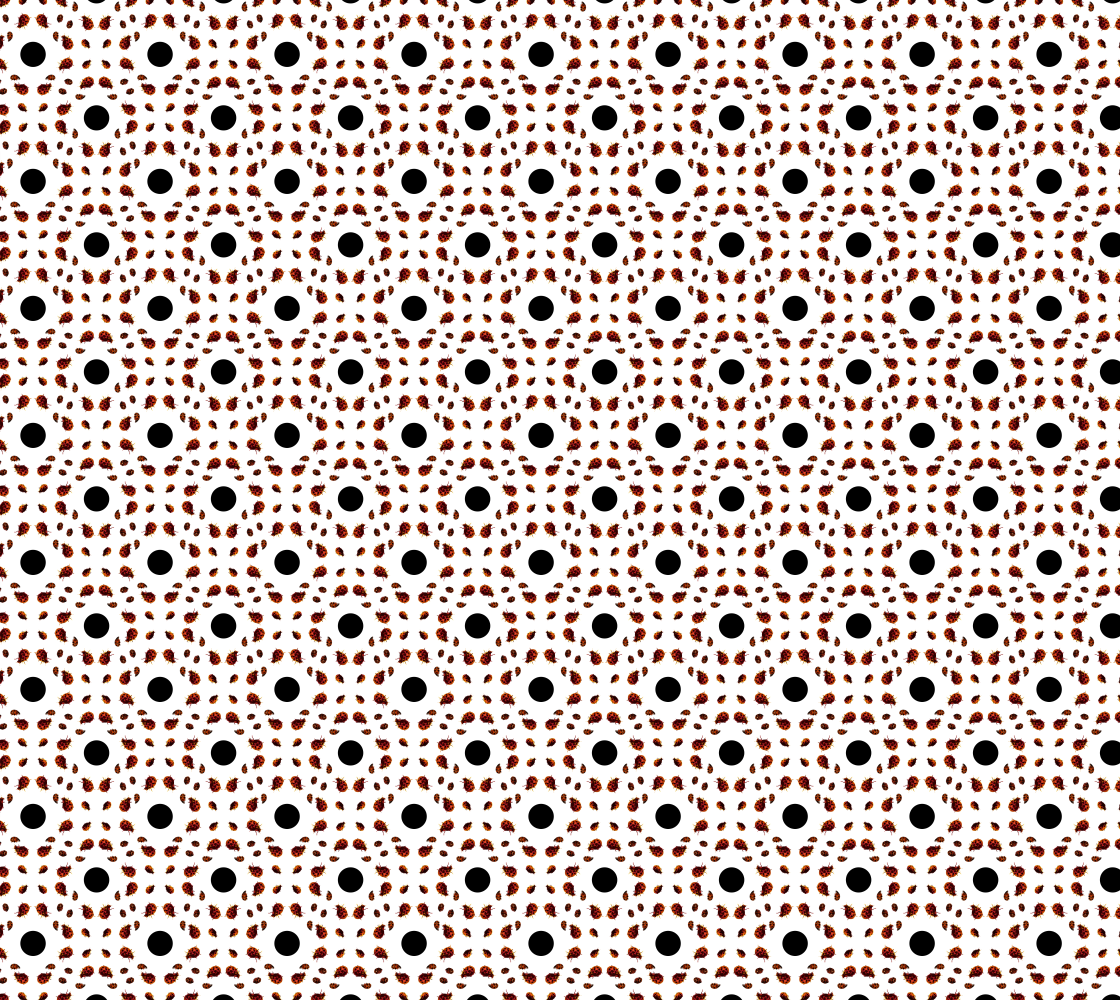 Ladybug Dots Pattern preview