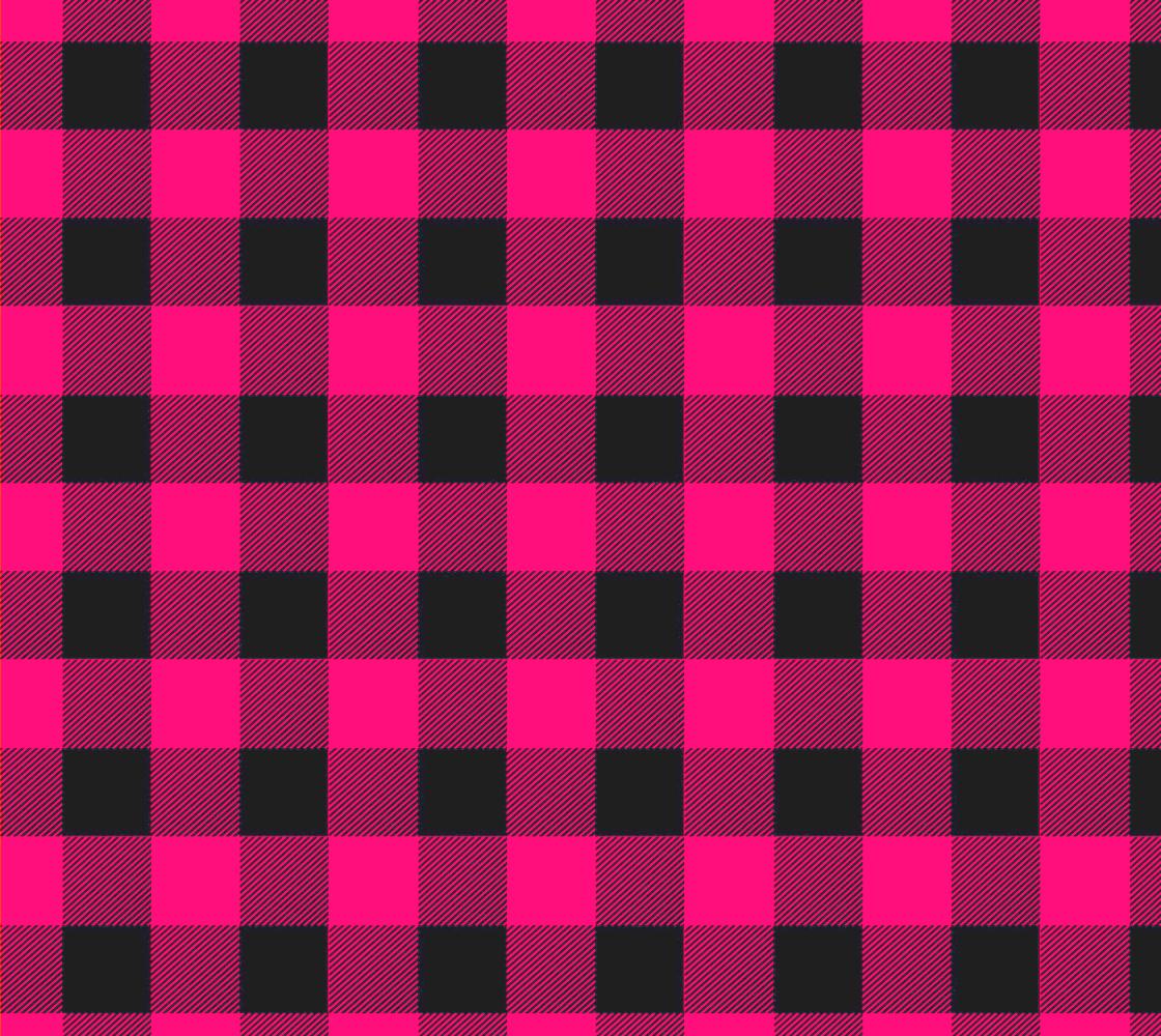 Aperçu de Pink Buffalo Plaid