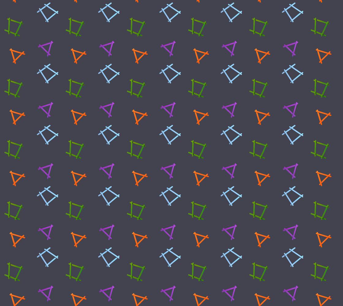 Popstick Geometry on Dark Gray preview