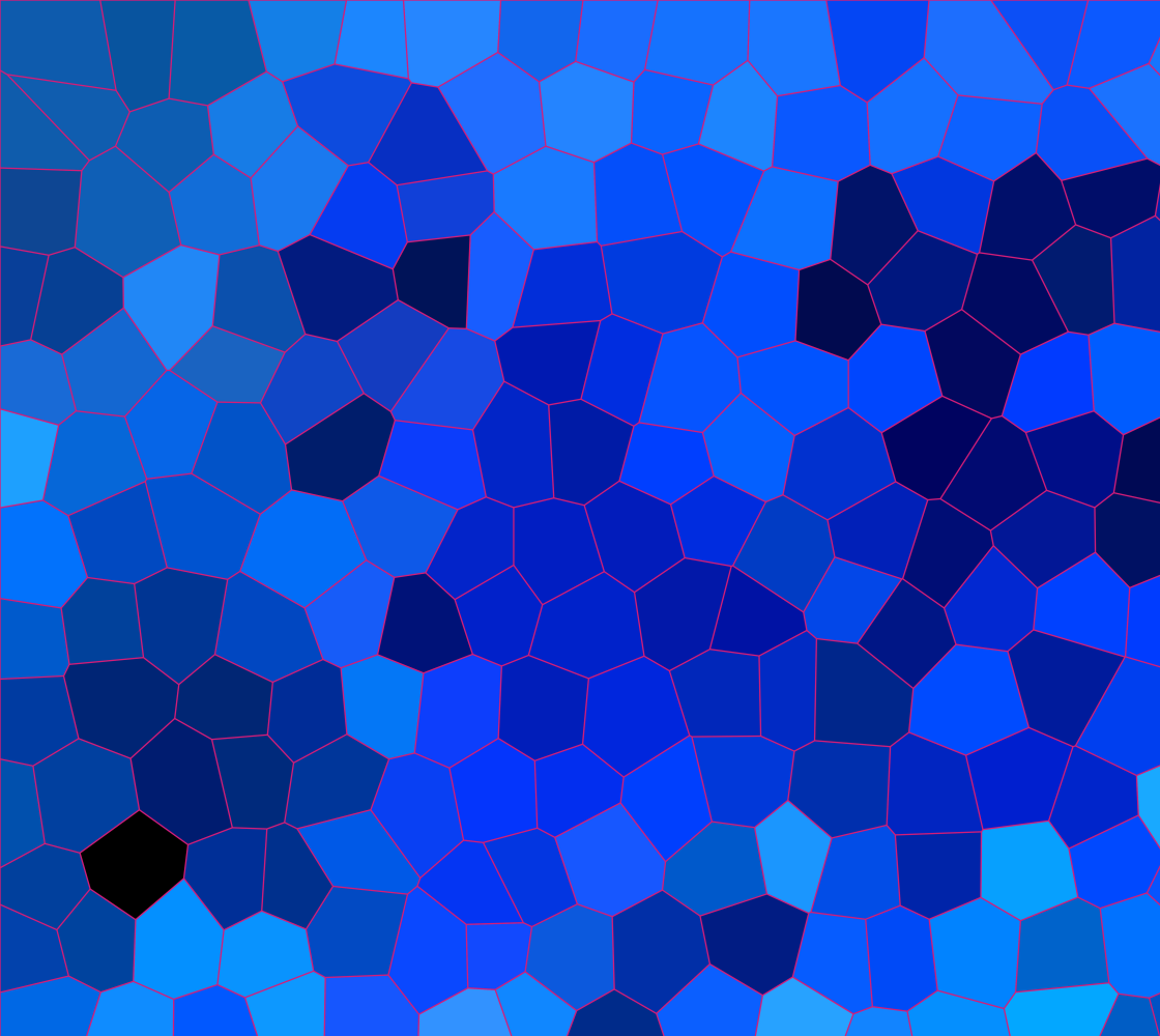 Ocean Blue Mosaic Pattern Fabric preview