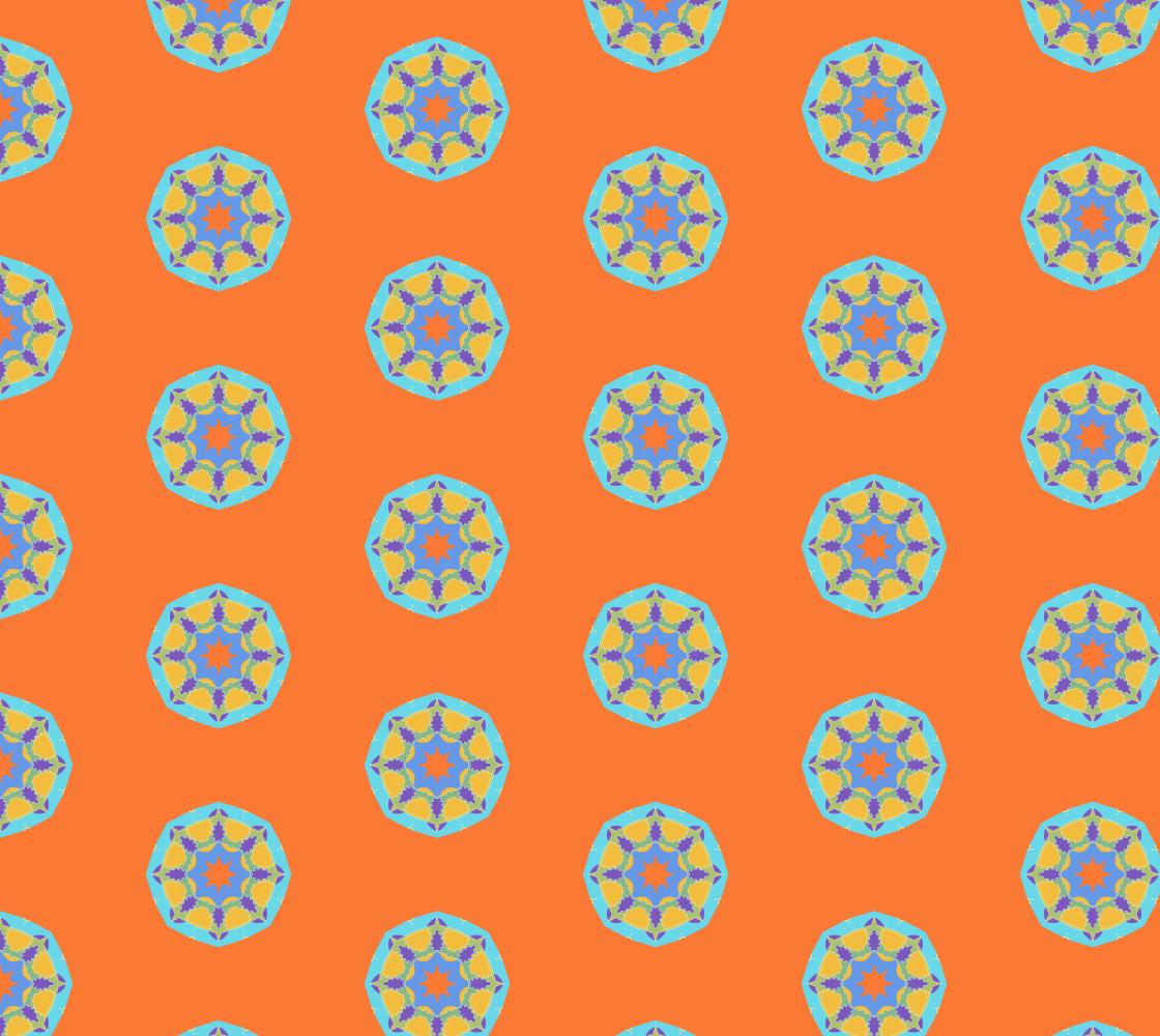 Shell We Mandala 20 Orange preview