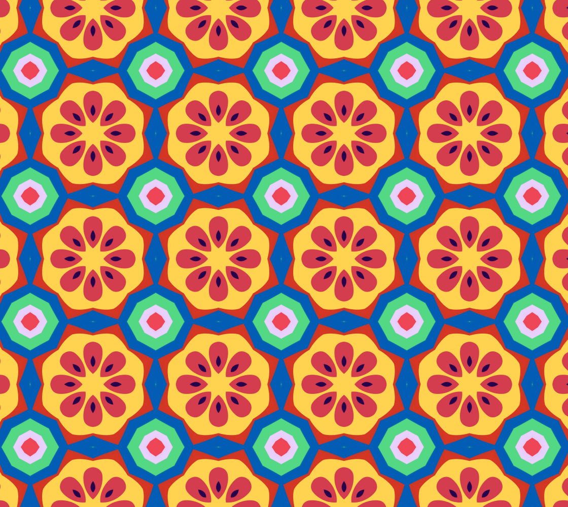 Unique Abstract Floral - Repper preview