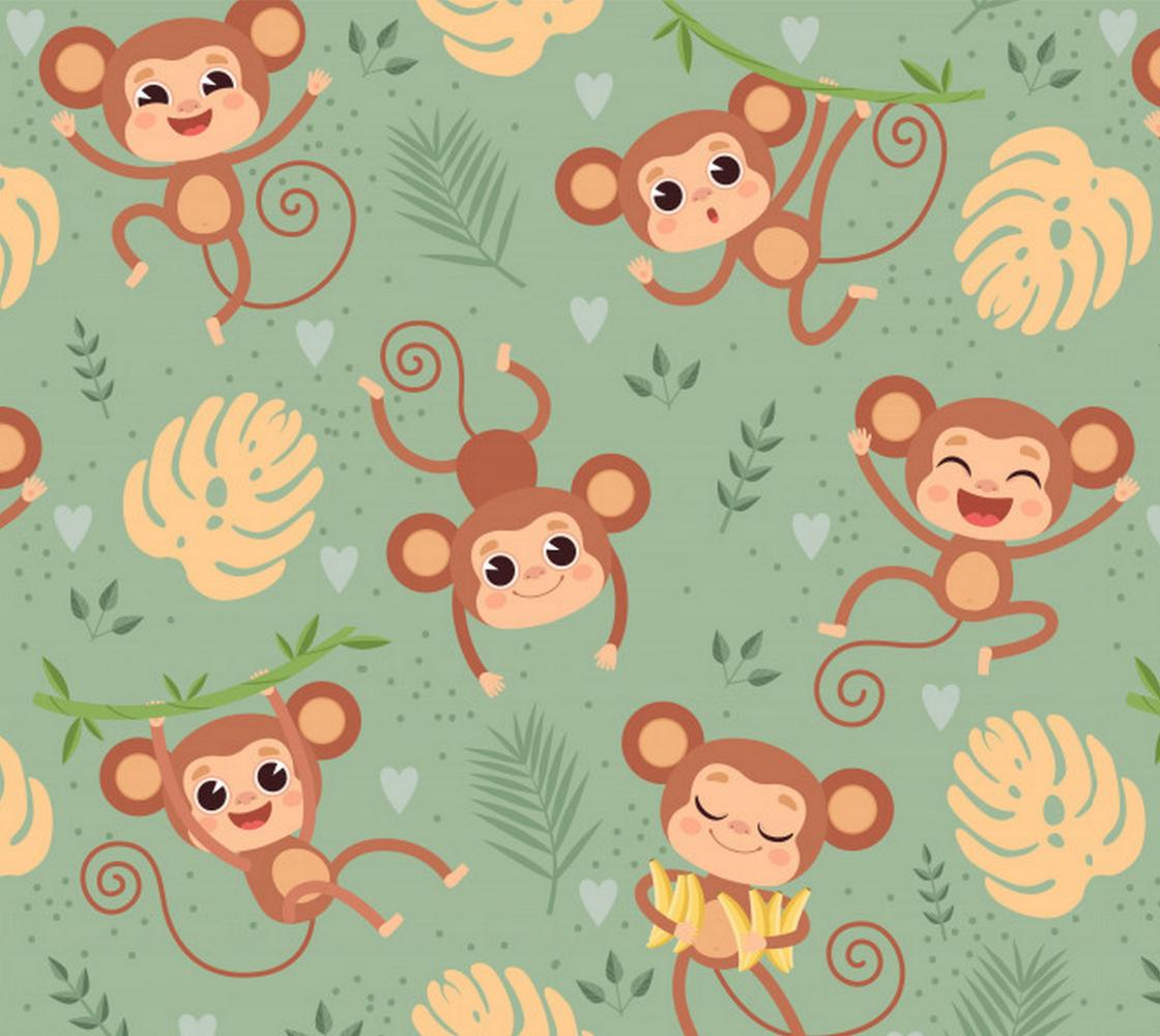 Adorable Monkeys preview