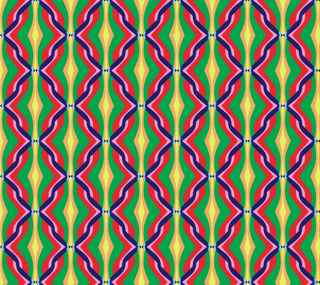 Repper Abstract - multi colored twisted ribbons preview