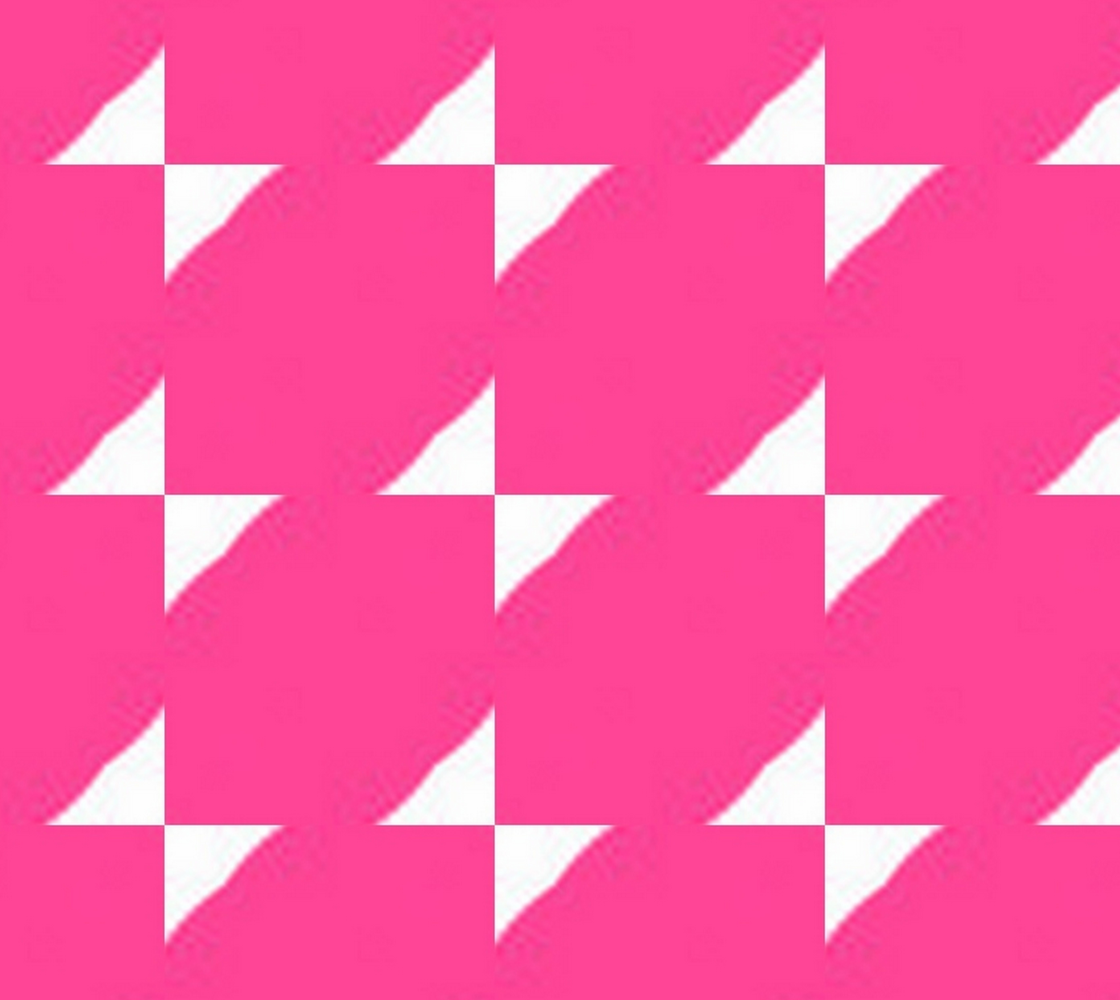 White Triangles on Bright Pink preview