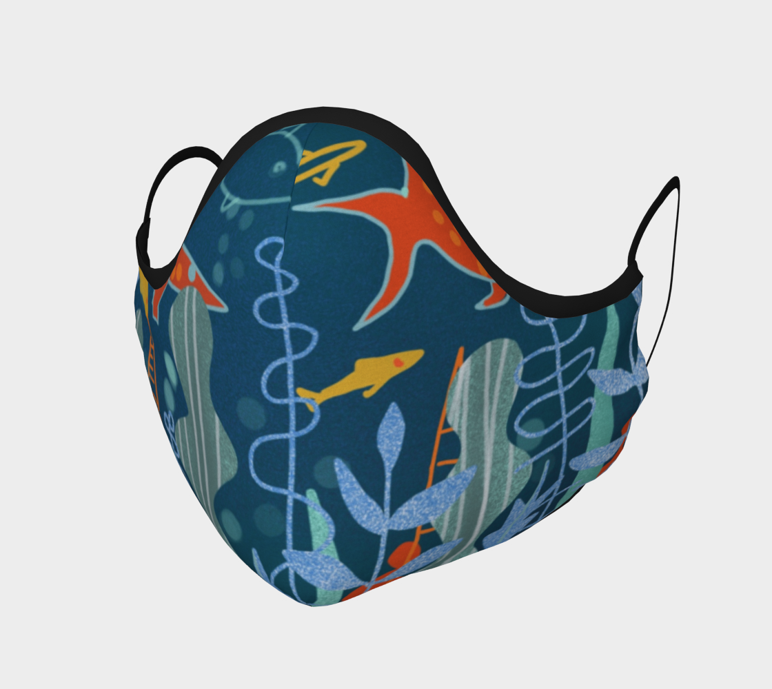 Masque Petits poissons preview