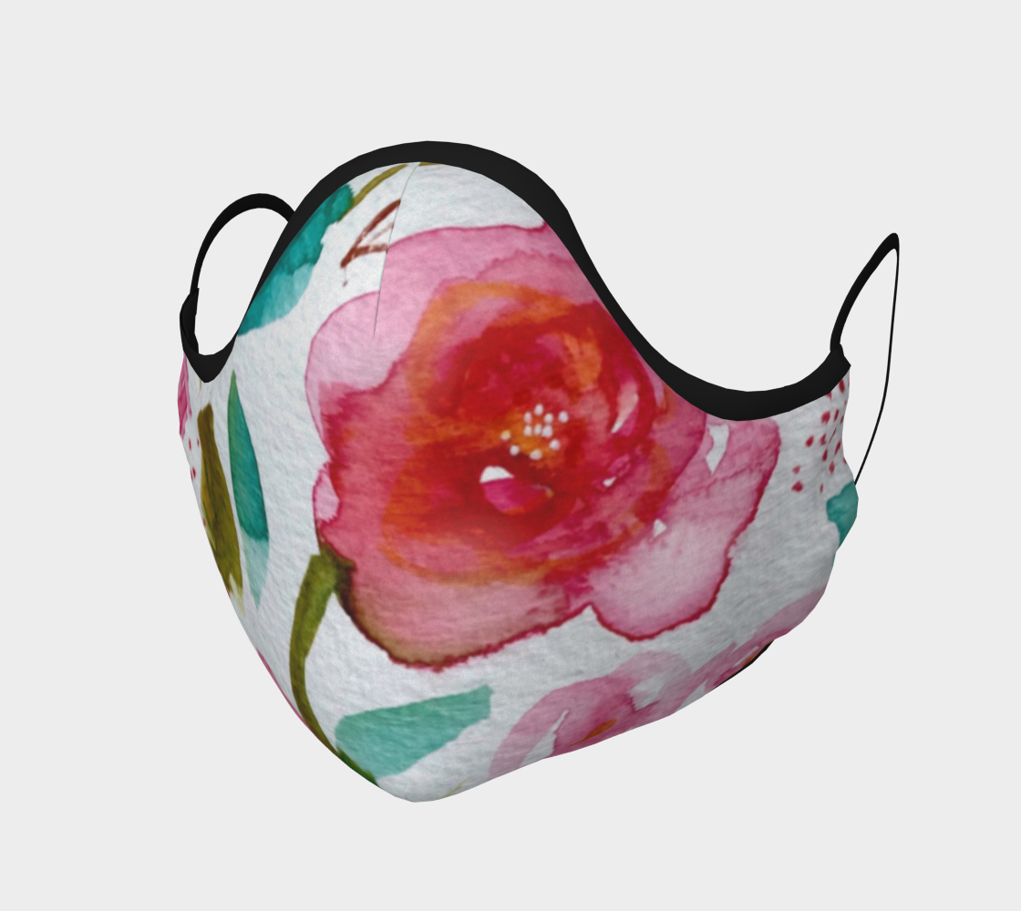 Masque Aquarelle florale preview