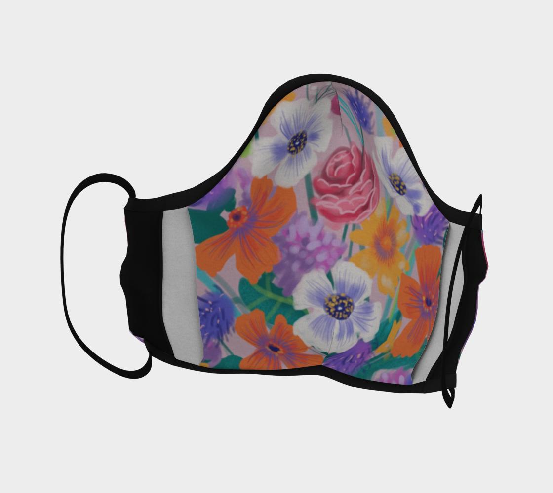 Masque Floraison pastelle preview #4