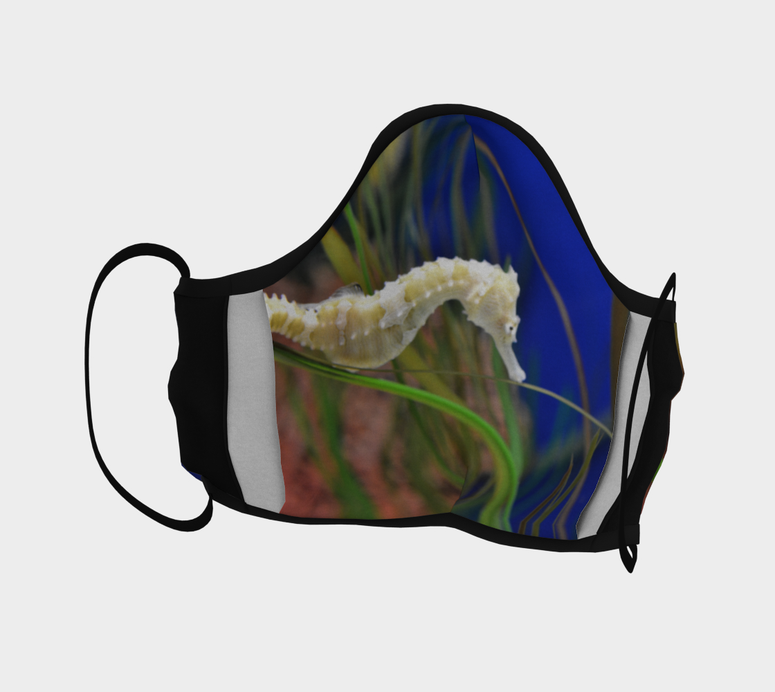 Sea Horse Face Mask preview #4