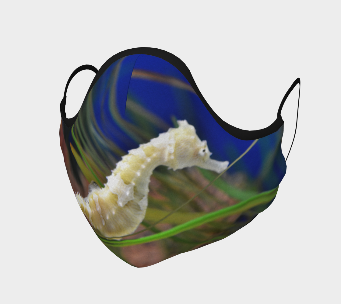 Sea Horse Face Mask 3D preview