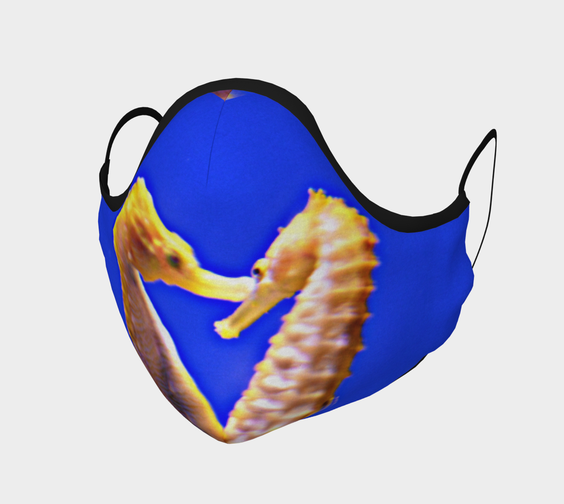 Seahorse Pair Face Mask preview