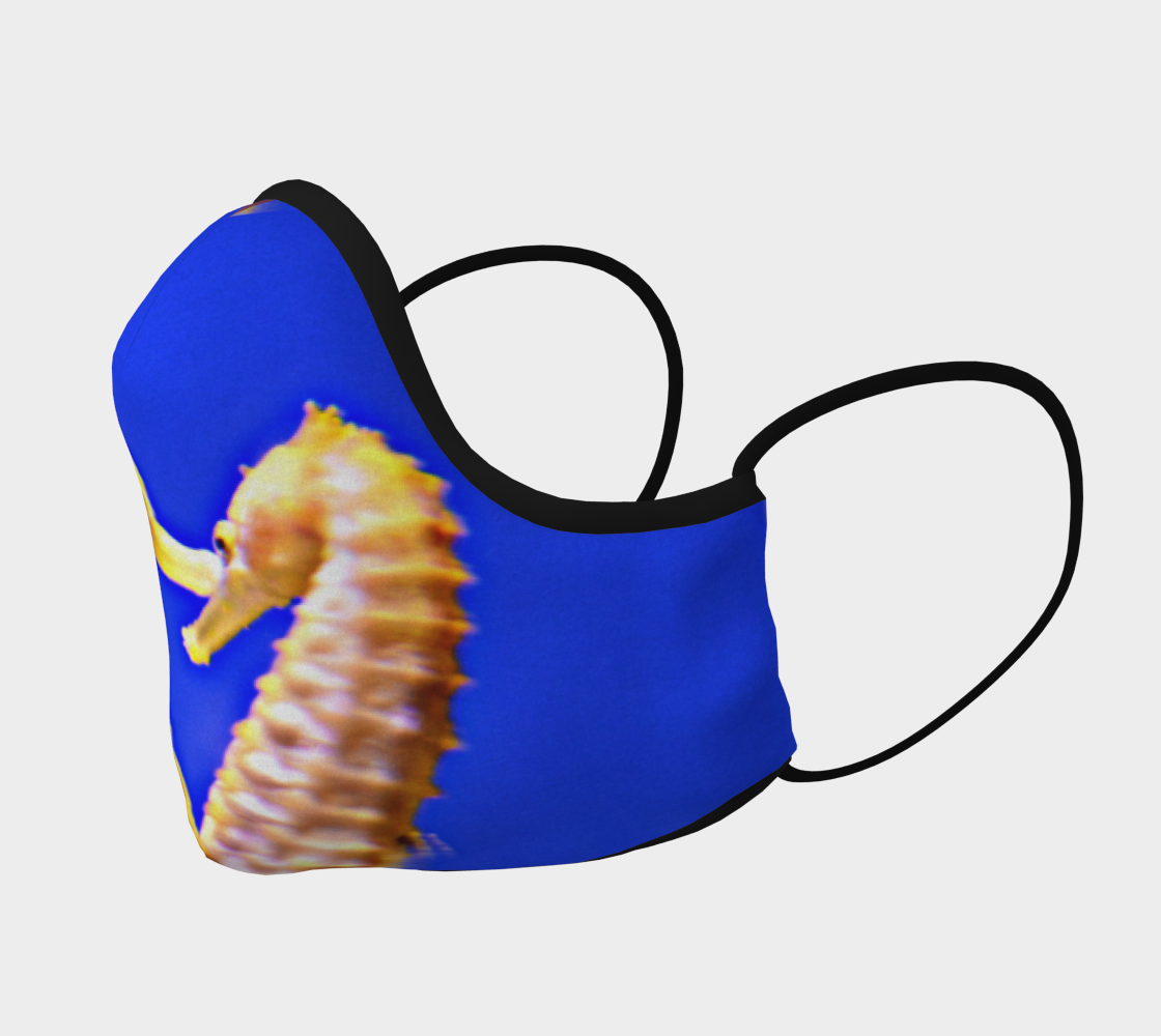 Seahorse Pair Face Mask preview #2