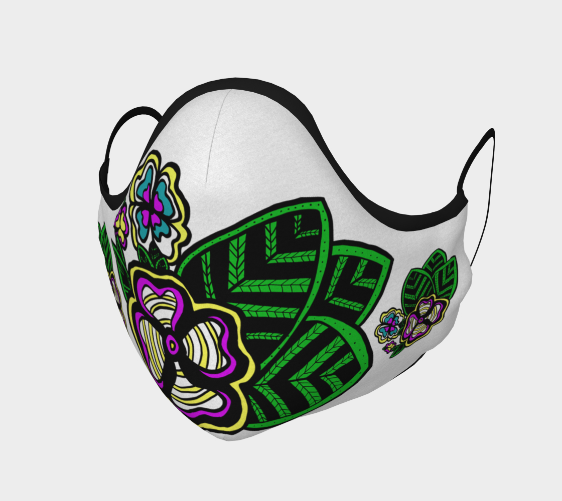 Cree Flowers Face Mask preview