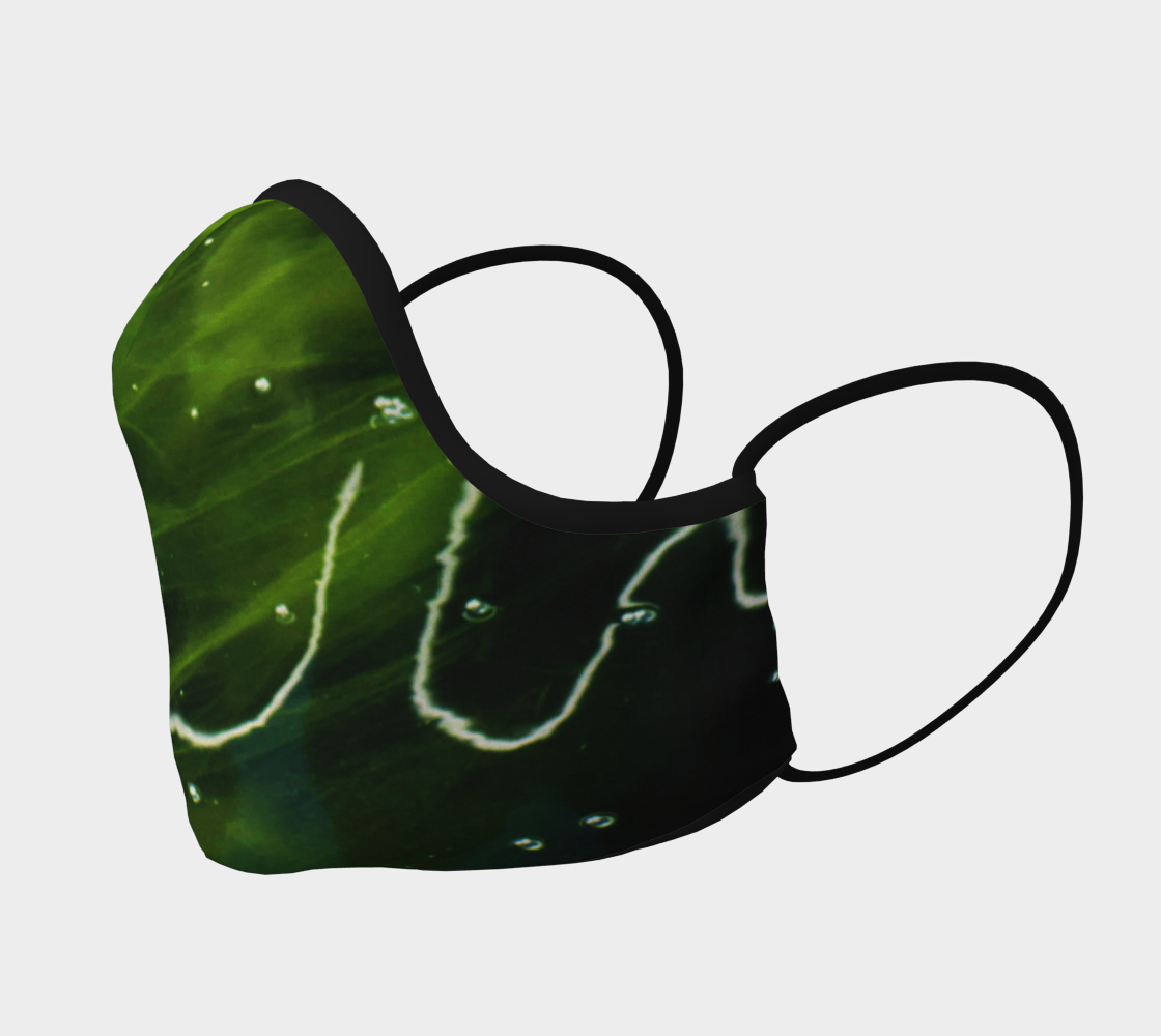 Green Algae and Water Face Covering preview #2