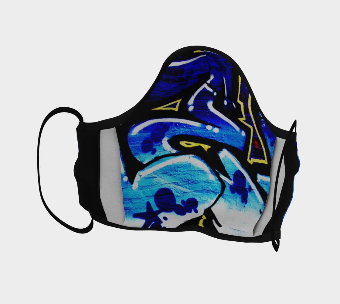 Graffiti 15 Face Covering preview #4