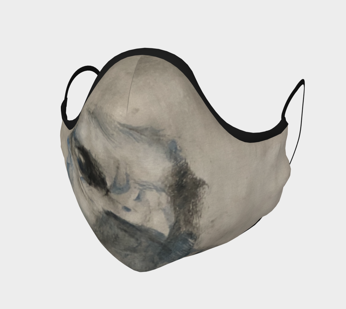 Aperçu de Cliff Swallow Face Mask