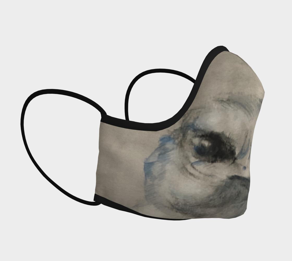 Aperçu de Cliff Swallow Face Mask #3