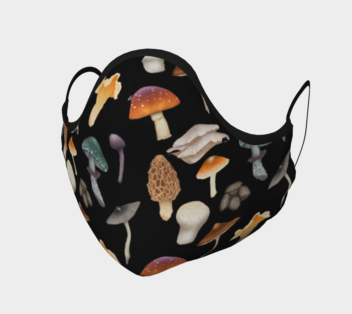 Face Mask - Wild Forage Mushrooms preview