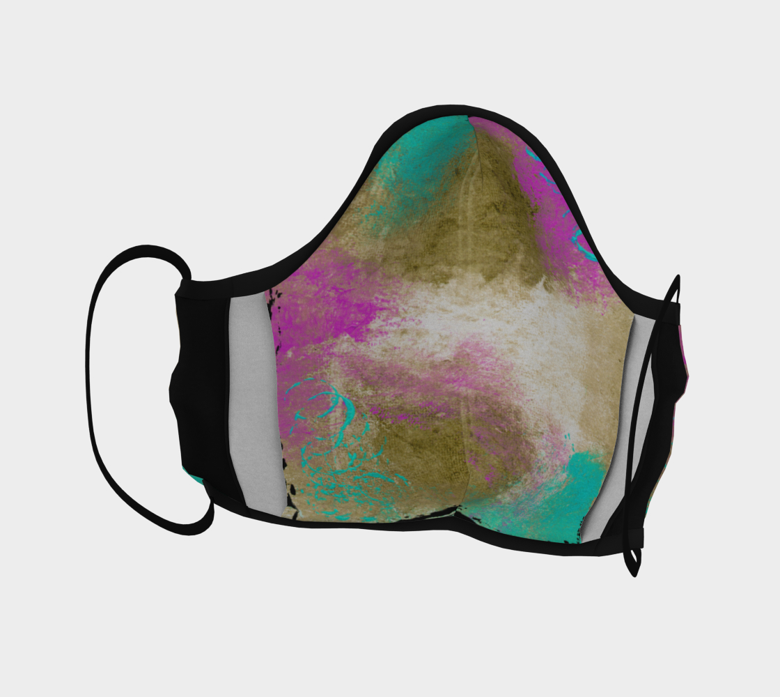 PASTEL ABSTRACT FACE COVERING preview #4