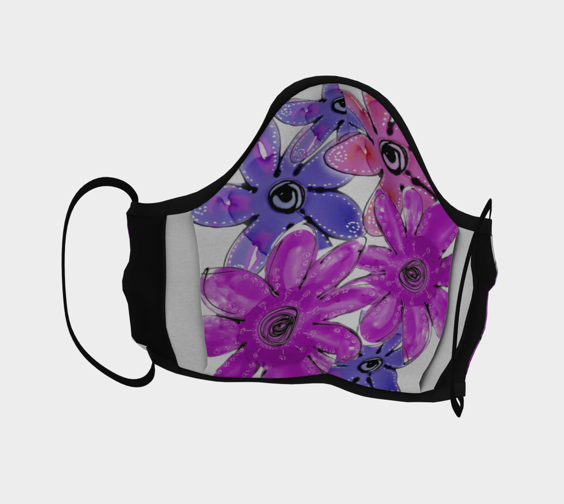 FLORAL POP 2 FACE COVERINGS preview #4
