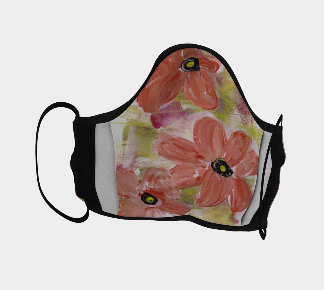 PLAYFUL FLORAL FACE COVERING preview #4