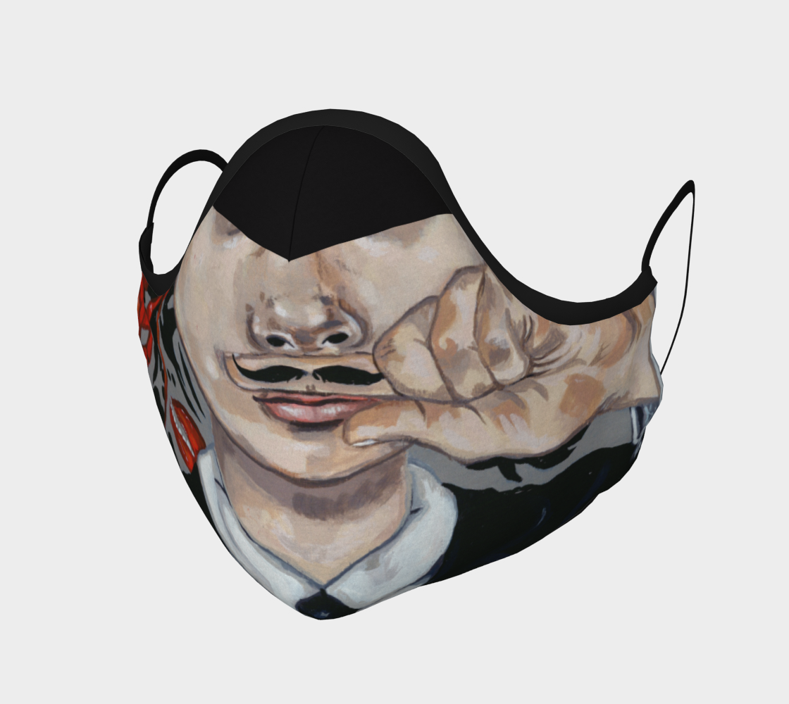 Masque moustache amusante! preview