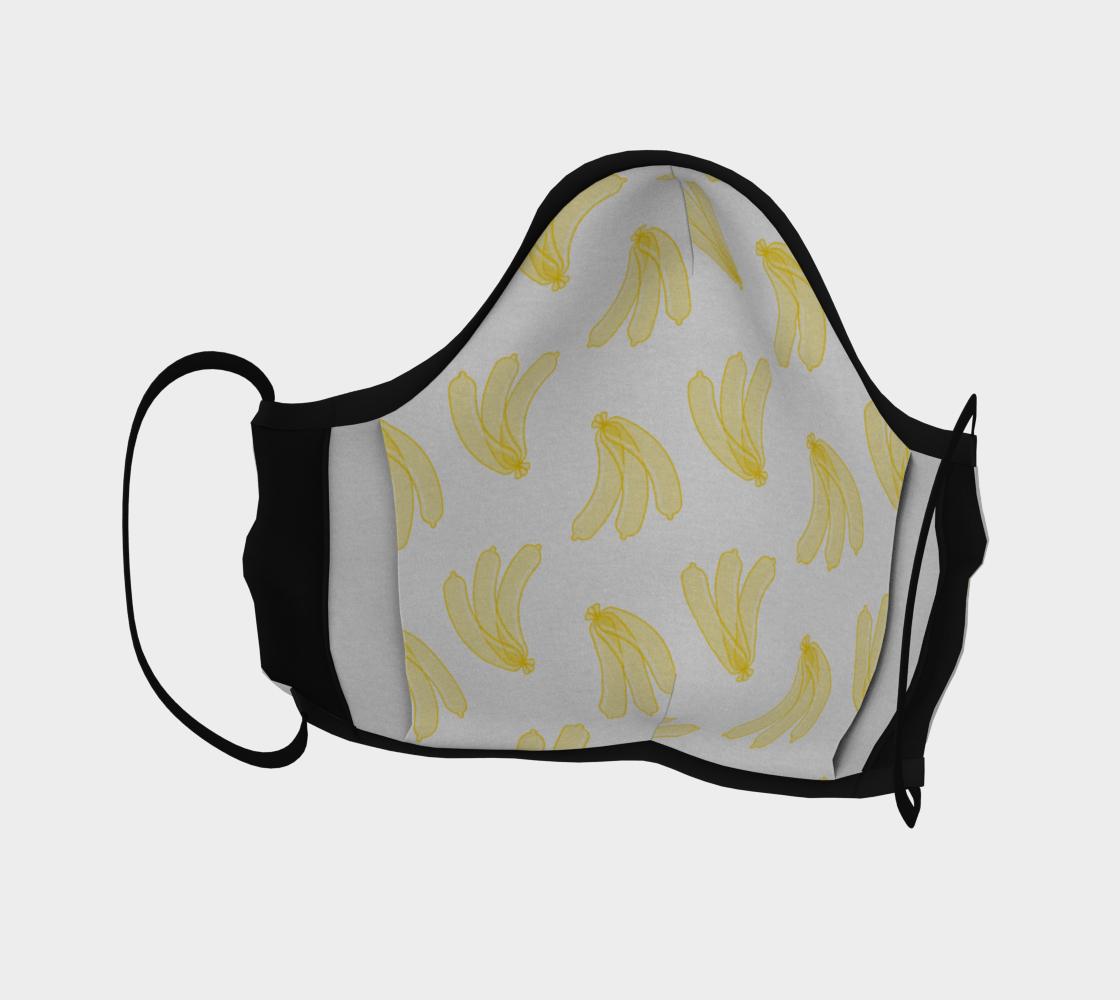 Banana Condoms Face Mask preview #4
