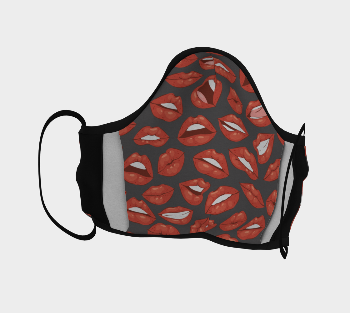 Sexy Lips Face Mask preview #4