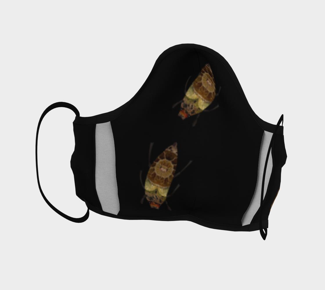 Aperçu de Brown Bugs on Black Mask #4