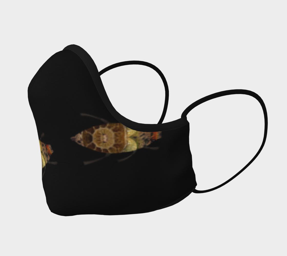 Aperçu de Brown Bugs on Black Mask #2