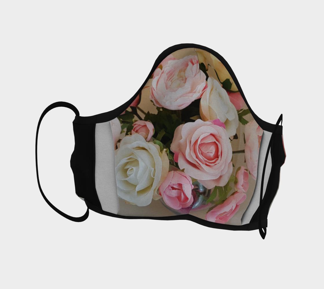 masque de protection bouquet de roses  preview #4