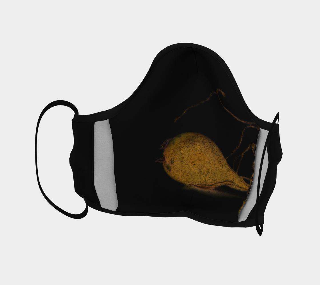 Aperçu de Seaweed on Black Mask #4
