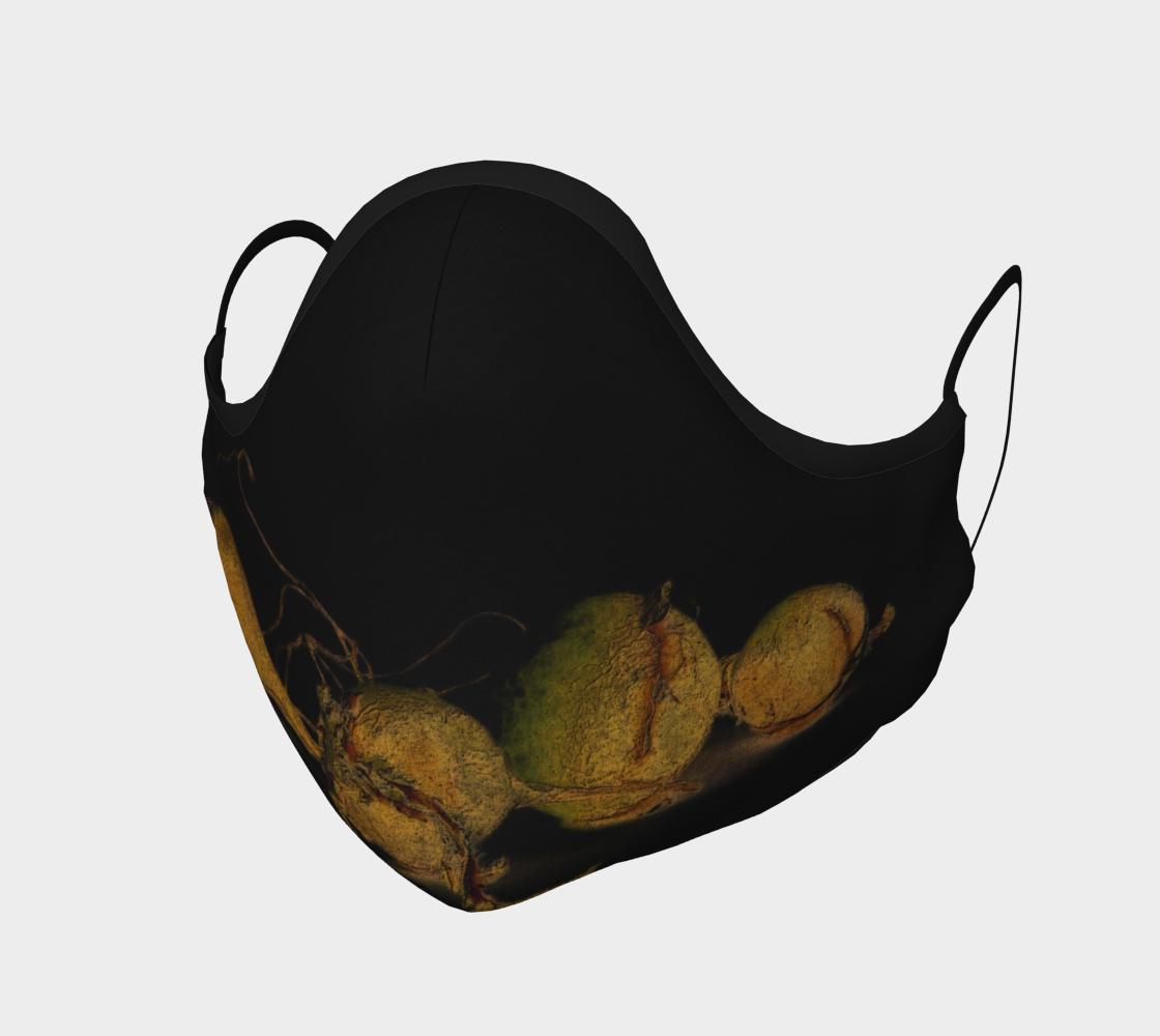 Aperçu de Seaweed on Black Mask #1