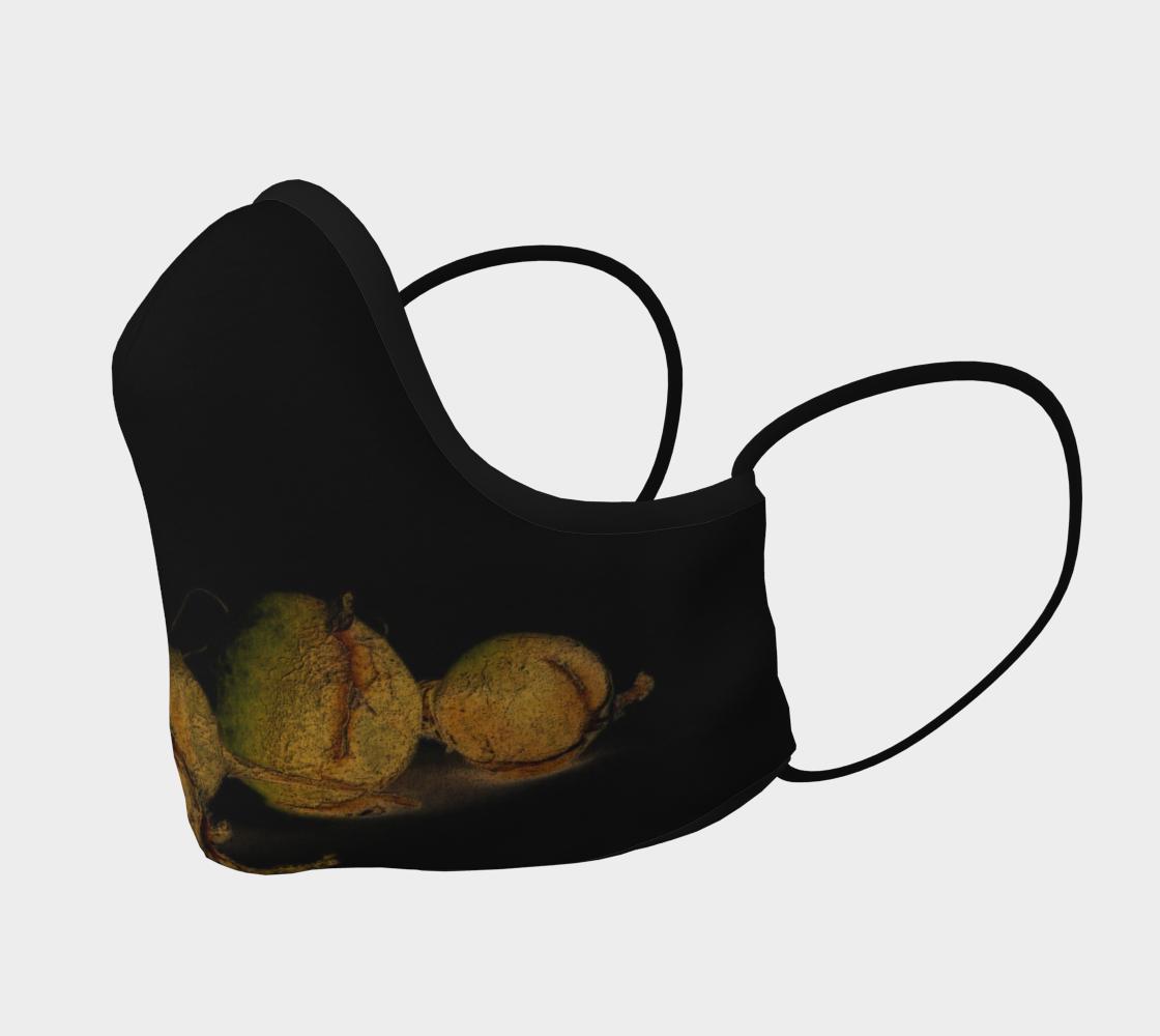 Aperçu de Seaweed on Black Mask #2